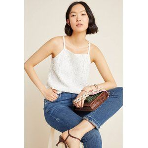 nwt sunday in brooklyn white blanche lace tank